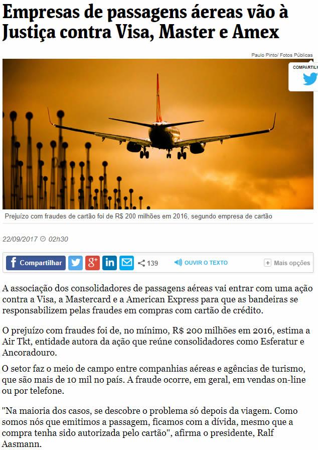 Folha de S.Paulo – 26/09/2017 – Web