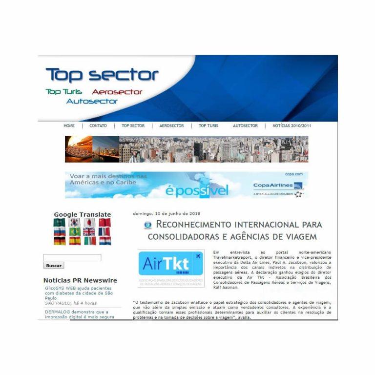 Top Sector – 10/06/2018