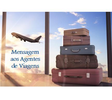 Mensagem aos Agentes de Viagens ✈